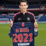 Ángel Di María renueva contrato con el PSG hasta 2021
