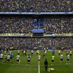 Hinchas de Boca Juniors llenan la Bombonera en entrenamiento