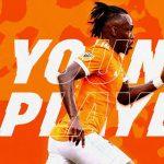 Alberth Elis elegido el Jugador Joven del año del Houston Dynamo