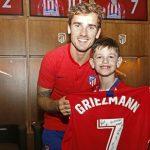 Manu, el niño argentino que enamoró a Griezmann y al Atlético de Madrid (FOTOS)