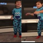 Así bailan los hijos de Messi