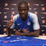 El francés N'Golo Kanté renueva con el Chelsea hasta 2023