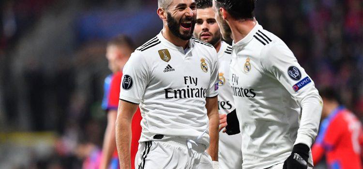 Benzema supera los 200 goles con el Real Madrid