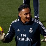 Keylor Navas ausente en entrenamiento del Real Madrid