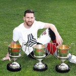 Messi iguala a Di Stéfano, Quini y a Hugo Sánchez