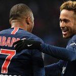 PSG con goles de Neymar y Mbappé derrota al Lille