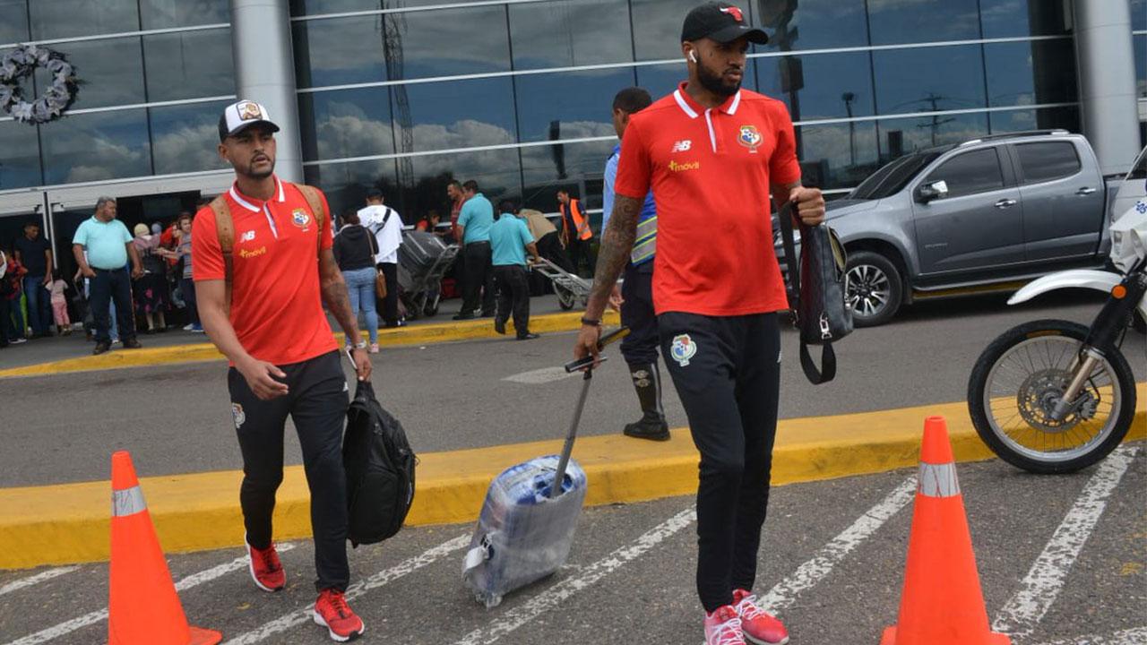 La Selección de Panamá ya se encuentra en Honduras