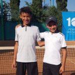 Tenista hondureño se corona campeón en dobles en México