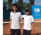 Tenista hondureño Antonio Chávez se coronó campeón en dobles en México