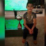 Cristiano Ronaldo felicitó a su hijo por ganar un trofeo con la Juventus