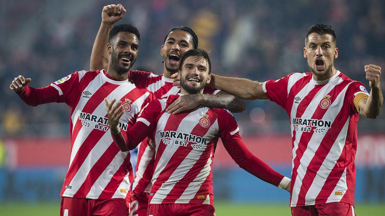 """El Girona del """"Choco"""" Lozano avanza a octavos en la Copa del Rey"""