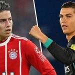 Cristiano Ronaldo no quiere a James Rodríguez en Juventus