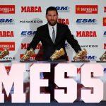 Messi recibe su quinta Bota de Oro, una más que Cristiano Ronaldo