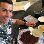 Cristiano Ronaldo desayuna a lo catracho