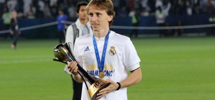 Luka Modric, elegido deportista del año en Croacia