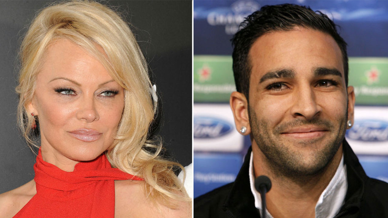 Pamela Anderson se reconcilió con el futbolista Adil Rami y podrían pasar por el altar