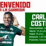 Carlo Costly ya es jugador de Marathón
