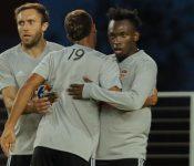 Alberth Elis muy sonriente en entrenamiento del Houston Dynamo (VÍDEO)