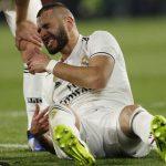 Karim Benzema será operado el domingo y estará dos semanas de baja