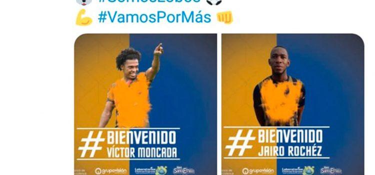 Lobos UPNFM presenta a Jairo Róchez y Víctor Moncada