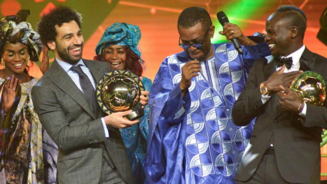 Mira cómo celebró Salah ganar el Balón de Oro africano