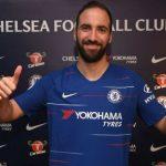 Higuaín llega al Chelsea para sustituir a Diego Costa