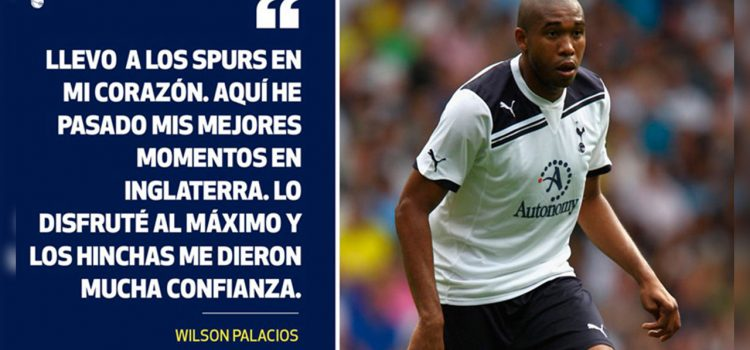 Tottenham no olvida a Wilson Palacios