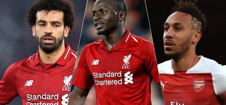Salah, Mané y Aubameyang, finalistas para el Balón de Oro africano