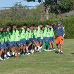 Freslys López novedad en el entrenamiento de Motagua