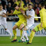 Real Madrid empata con el Villarreal