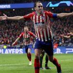 Atlético sorprende a la Juventus y pone un pie en cuartos