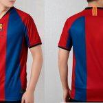 Esta camiseta usará el Barcelona para el clásico