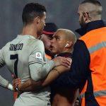 Severo castigo para el aficionado que abrazó a Cristiano Ronaldo