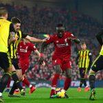Manita del Liverpool al Watford para afianzar liderato