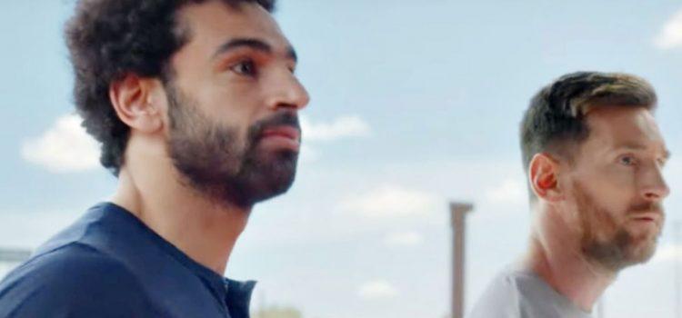 Messi y Salah: Las figuras se enfrentan en un desafío de remates (VÍDEO)