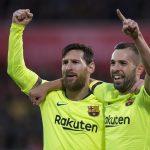 Barcelona examina hoy su liderato en la cancha del Sevilla