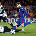 Barcelona buscará ante Valencia su noveno triunfo consecutivo