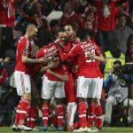 Benfica humilla 10-0 al Nacional de Madeira de Bryan Róchez