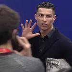 Mal perdedor Cristiano: «Yo tengo cinco Champions y el Atlético, cero» (VÍDEO)