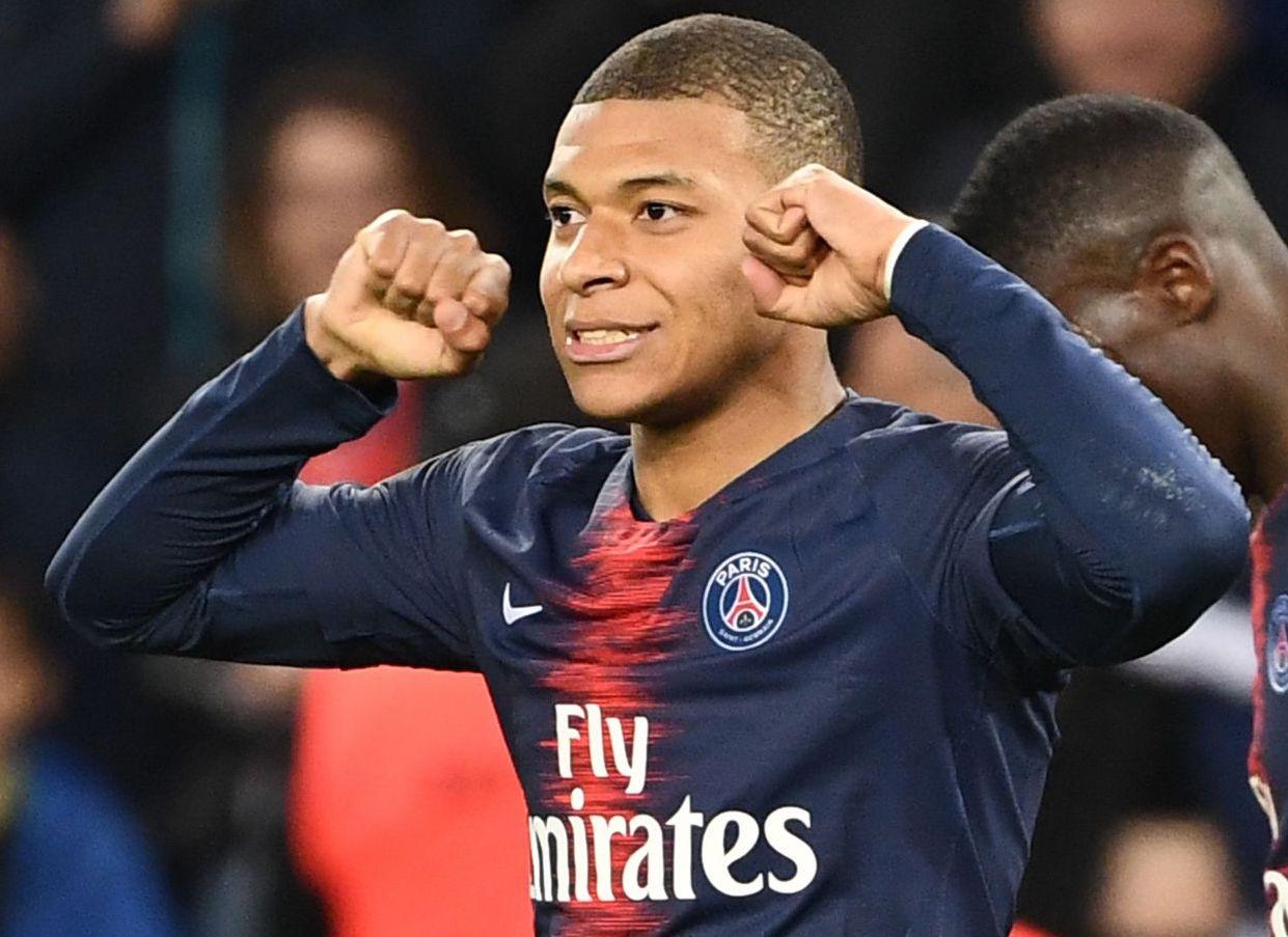 Con doblete de Mbappé, el PSG golea al Nimes