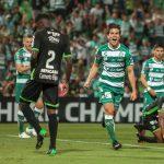 Marathón se despide de la Liga de Campeones con otra goleada ante Santos