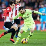 Barcelona empató ante el Athletic, con Messi de titular