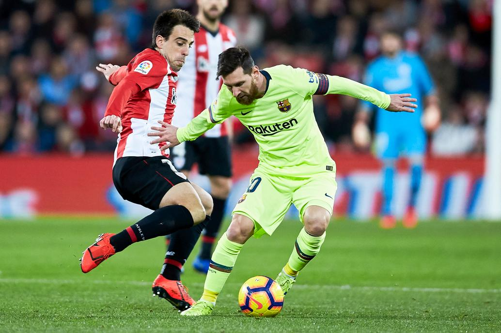 Barcelona empató ante el Athletic, con Messi de titular