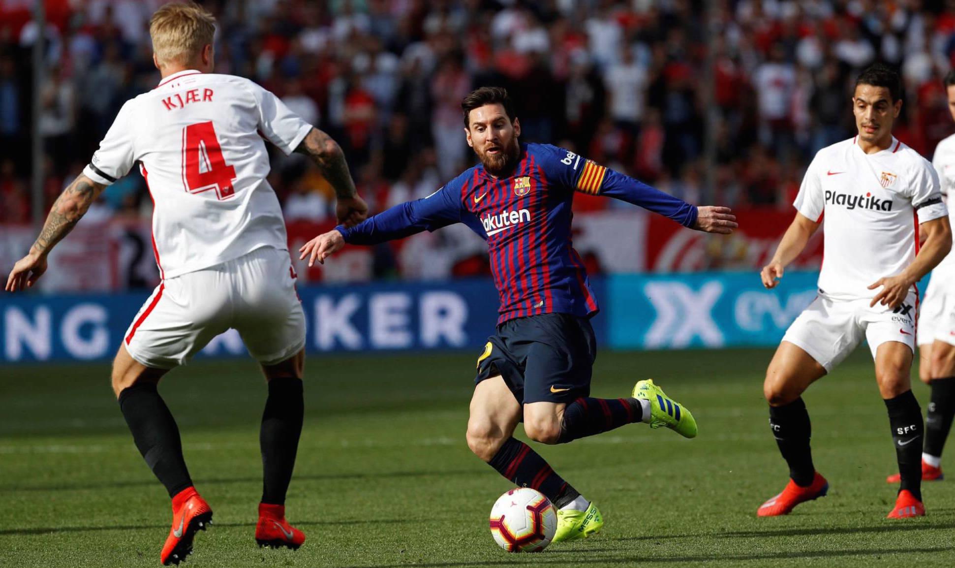 Messi: tres golazos y una asistencia en el 4-2 de Barcelona ante Sevilla