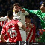 Girona del «Choco» Lozano asalta el Bernabéu y aleja al Real Madrid de la Liga