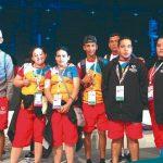Con 28 medallas regresan atletas hondureños en Olimpiadas Especiales de Abu Dhabi