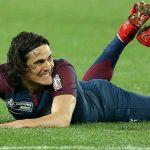 Cavani se resintió de su lesión y estará un mes sin jugar