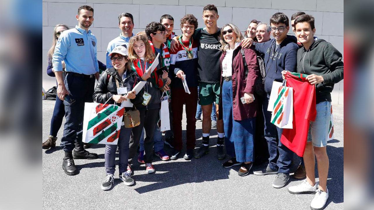 Cristiano Ronaldo desató el furor en su regreso a la Selección de Portugal