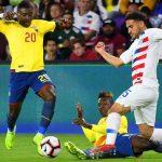Ecuador pierde ante Estados Unidos y ya piensa en Honduras