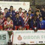 """""""Choco"""" Lozano y Girona vencen al Barcelona y son campeones de la Supercopa de Catalunya"""